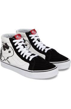 c712c74959a VANS X Peanuts Sk8-Hi Sneaker.  vans  shoes   Black High Top