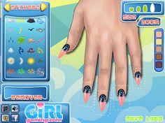 Nail art game! Tipsy Zine