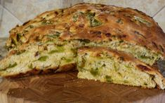 This mouth watering recipe for green chile cheese bread will spice up your sandwiches and take your toast to the next level. Hatch Green Chili Recipe, Green Chili Recipes, Hatch Chili, Cooking Bread, Bread Baking, Asian Recipes, Mexican Food Recipes, Chile, Bread Recipes