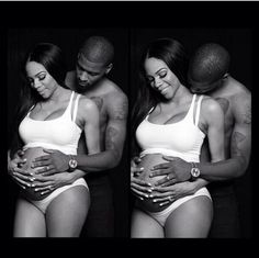 I HATE maternity shoots, but this one is #adorable!!! #blackfamily #blacklove