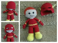 The Flash. Pattern by Clare Heesh.