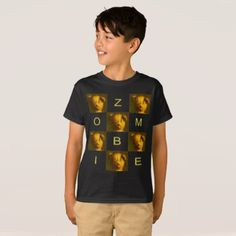 #Zombie Teddy Bear Children's T-shirt - #halloween #party #stuff #allhalloween All Hallows' Eve All Saints' Eve #Kids & #Adaults