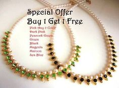 Buy 1 get 1 free pearl necklace set