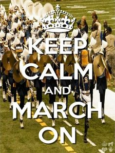 Keep Calm and March On,,,SU Human Jukebox!