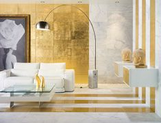 30 Glamorous Interiors with Golden Touch - http://www.diyartdesign.com/30-glamorous-interiors-with-golden-touch