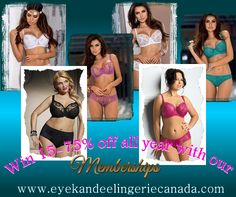 Like & Tag To Win!  How would you like to win a FREE membership to Eye Kandee Lingerie that entitles you to 15-75% off for ONE YEAR!  We're giving away 100 FREE memberships. Random memberships will be given out.   Prizes : 30 x Prestige Memberships @ 15% off for 1yr!  40 x Platinum Memberships @ 35% off for 1yr! 30 x Diamond Memberships @ 50% off for 1yr!  #contest #promo #giveaway #sale #prize #lingerie #sweepstakes
