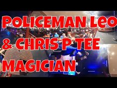 Leo the Policeman at the Laughing Donkey with Children's Entertainer Chr...