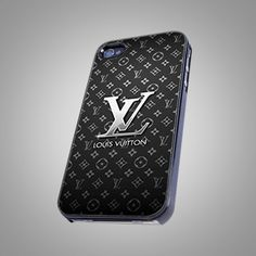 "Louis Vuitton Black Print on Hard Plastic For iPhone 5 Case, Black Case  This case is available for: iPhone 4/4S iPhone 5/5S iPhone 6 4.7"" screen Samsung Galaxy S4 Samsung Galaxy S5 iPod 4 iPod 5  Ple"