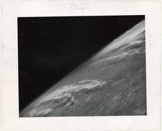 On October 24, 1946, the world was introduced to the first photograph from space, a shot of our tiny planet taken 65 miles above Earth. The artist behind this iconic image was a V-2 rocket, programmed to capture a frame every 1.5 seconds before delivering a steel cassette of film back to the ground just minutes after it launched.