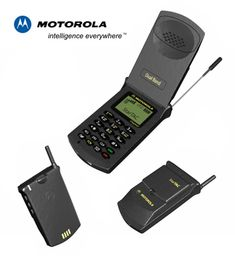 Star Tac Motorola! Better reception than most phones out today!