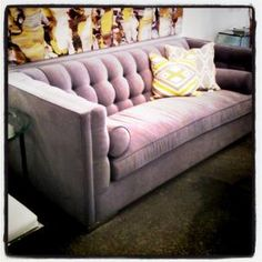 Love this  Bruce Sofa from Parliament.  http://parliamentinteriors.com/products/bruce-sofa