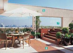 23 idéias para decorar varandas e terraços - Casa