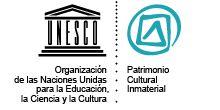 Logo du patrimoine culturel immatériel. tecnicas tradicionales siiiiiii