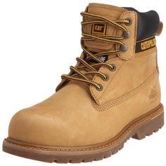 CAT Holton 708026 - Botas de seguridad SB para hombre  Amazon.es  Zapatos y  complementos 2f513422df28