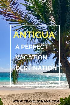 Antigua, it's a beautiful vacation destination located in The Caribbeans #caribbean #antigua #travel #vacation #destination Vacation Destinations, Caribbean, Travel Tips, Beautiful, Antigua, Travel Advice