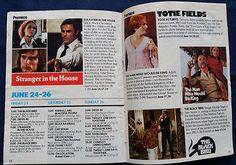 1977 HBO Guide GODFATHER II PACINO Woody Allen Home Box Office TV Magazine June