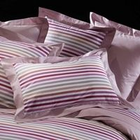 Sonia Rykiel Maison - Solid Colour Fitted Sheet - Poudre - King Size pussilakanat