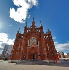 Russia's biggest Catholic church, Moscow's Cathedral of Immaculate Conception