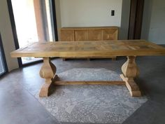 Handmade Furniture, Dining Table, Home Decor, Craftsman Furniture, Decoration Home, Room Decor, Dinner Table, Dining Room Table, Home Interior Design