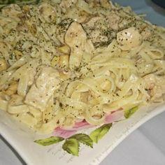 Fettucino Alfredo Tarifi Chicken, Food, Essen, Meals, Yemek, Eten, Cubs