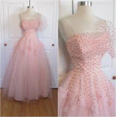 COTILLION ORIGINALS 1950's Vintage Pink and by RubyFayesVintage, $100.00