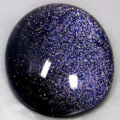 BLUE GOLDSTONE: Goldstone is said to be the stone of ambition.  It builds energy, courage and a positive attitude.  Increases drive and confidence.  A gently uplifting stone, Goldstone promotes vitality.    Goldstone helps to reduce stomach tension and benefits arthritic conditions.  It is helpful to bones, painful joints and circulation.