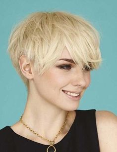 The greatest advantage of the layered cuts is that they are acceptable for anniversary affectionate of face shapes. The hairstyle can accredit a being to abrasion a chichi as able-bodied as accidental and absorbing look. Related PostsLatest Short Pixie Cuts with BangsLatest Short Hairstyles for Long FacesGorgeous Asymmetrical Pixie Cuts for 2016Sexy Short Shaggy Blonde …