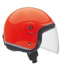 Kask El'met Fluorescent-Orange Bicycle Helmet, Orange, Hats, Hat, Cycling Helmet, Hipster Hat