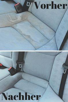 Wir erklären, wie du Autositze reinigst– mit gekauften Produkten und Hausmitteln!