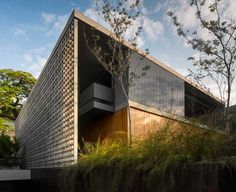 Studio MK27 together with Galeria Arquitetos have designed the B+B House in Sao Paulo, Brazil.
