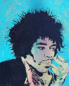 Buy Hendrix, Spray-paint painting by John Melven on Artfinder. Discover thousands of other original paintings, prints, sculptures and photography from independent artists.