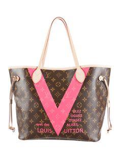 $1620 Louis Vuitton Neverfull MM