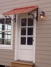 Classic Copper Awning