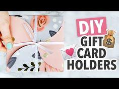 DIY Gift Card Holder 2 Ways ~ Christmas 2016 - HGTV Handmade - http://LIFEWAYSVILLAGE.COM/gift-card/diy-gift-card-holder-2-ways-christmas-2016-hgtv-handmade/