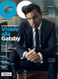 Cover GQ Italia April 2013 Feat Leonardo DiCaprio By Kurt Iswarienko