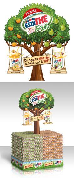 Nell'ambito della collaborazione avviata con il brand Estathè di Ferrero, Save As ha realizzato la comunicazione nel punto vendita per il lancio del nuovo prodotto ESTATHE' FRUIT, idean…