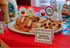food ideas for the party
