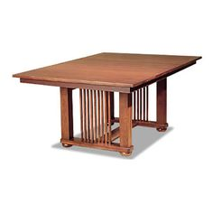 Stickley Highlands Trestle Table | The Mission Home | Pinterest ...