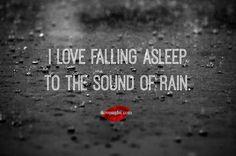 Love Falling Asleep to the Sound of Rain - I Love My LSI