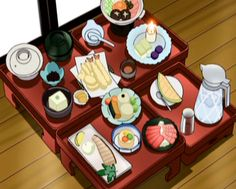 Cena tipica giapponese