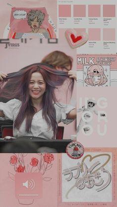 Jisoo of blackpink Aesthetic Grunge, Kpop Aesthetic, Pink Aesthetic, Blackpink Wallpaper, Vaporwave Anime, Candy Hearts, Pantone, Wallpapers Wallpapers, Jenny Kim