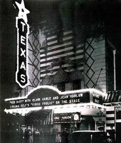The Texas Theatre, Oak Cliff.