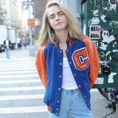 Cara Delevingne for 'The Vintage Twin' store. Vogue Fashion, Fashion Models, Cara Delevingne Style, Just Girl Things, Supermodels, Cool Girl, Celebrity Style, Celebs, Street Style