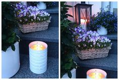 Treppenlicht aus der Dose / Light made with tin can / Upcycling