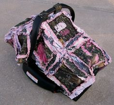 Camo+Baby+Infant+Carseat+Canopy+Tent+Cover+by+Stitchesbysteph
