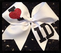 One direction cheer bow! Love it!