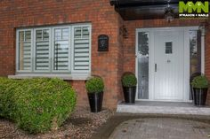 Need Composite Doors? We are Dublin's leading Front Doors experts. Visit our website to see our Exterior doors. Entrance Doors, Front Doors, Windows And Doors, Composite Front Door, Bungalow Exterior, House Front Door, Front Door Design, Exterior Doors, Facade