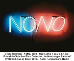 Bruce Nauman - NoNo, 1983