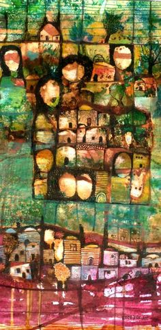 2008 'Homeland' by Nabil Anani In Latroun, Palestine) Palestine Art, Middle Eastern Art, Iranian Art, Folk, Sculpture Art, Amazing Art, Street Art, Oriental, Watercolor