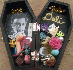 Salvidor Dali coffin altar box.